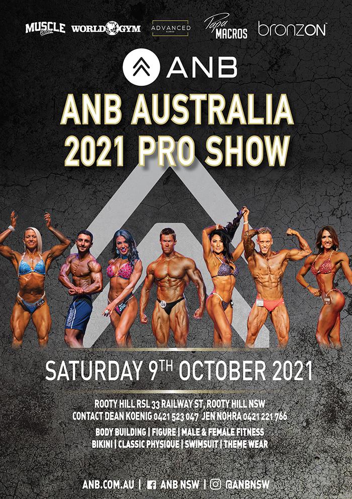 ANB Australia  2021 Pro Show